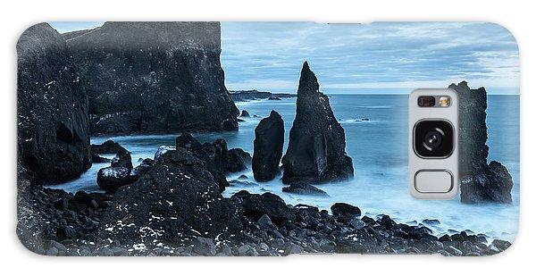 Basalt Galaxy Case - North Atlantic Coast During Winter by Martin Zwick