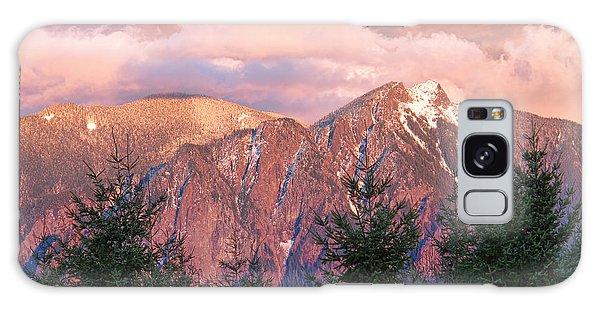North Bend Washington Sunset 2 Galaxy Case