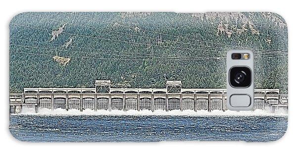 North Bonneville Dam Galaxy Case by Tobeimean Peter