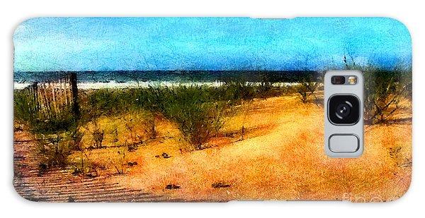 North Carolina Coast Galaxy Case by Elizabeth Coats
