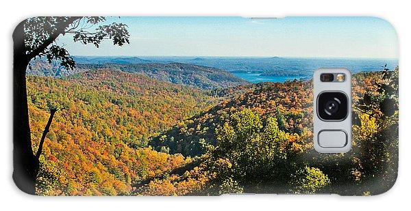 North Carolina Fall Foliage Galaxy Case