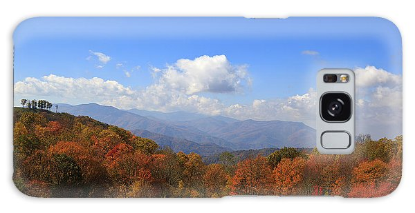 North Carolina Mountains In The Fall Galaxy Case