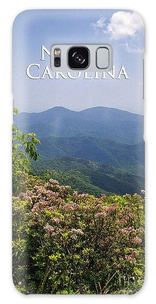 North Carolina Mountains Galaxy Case