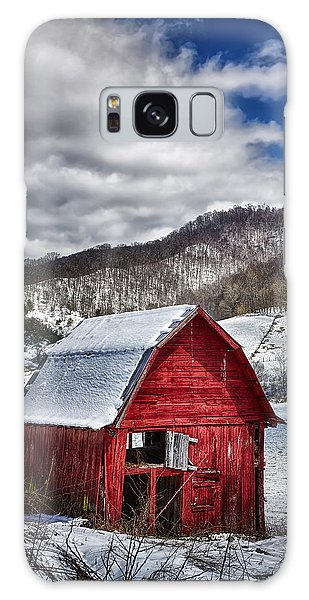 North Carolina Red Barn Galaxy Case