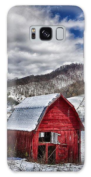 North Carolina Red Barn Galaxy Case