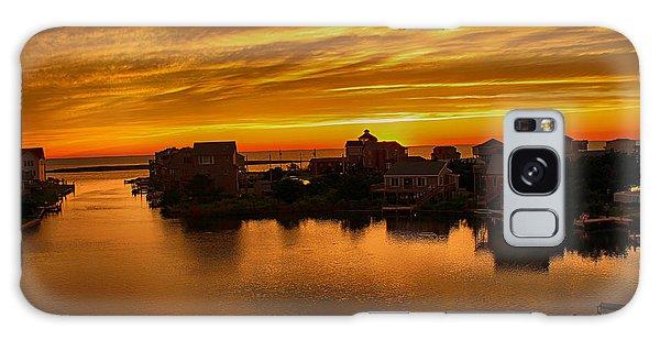 North Carolina Sunset Galaxy Case by Tony Cooper
