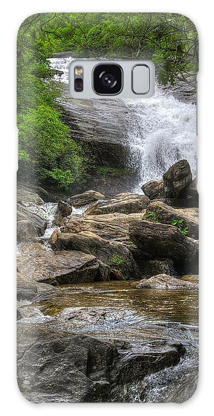 North Carolina Waterfall Galaxy Case