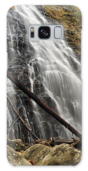 North Carolina's Crabtree Falls Autumn Colors Galaxy Case