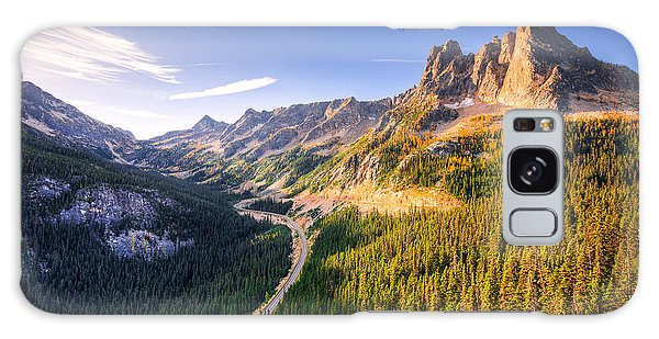 North Cascades Liberty Bell Galaxy Case