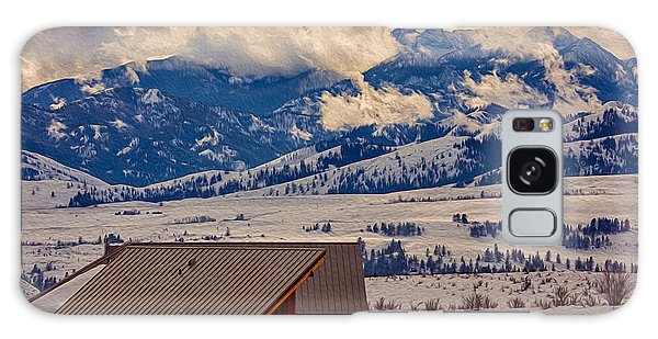 North Cascades Mountain View Galaxy Case