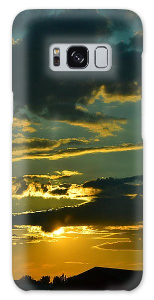 North Dakota Sunset Galaxy Case by Carlee Ojeda