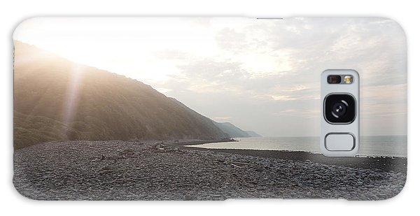 North Devon Coast Galaxy Case