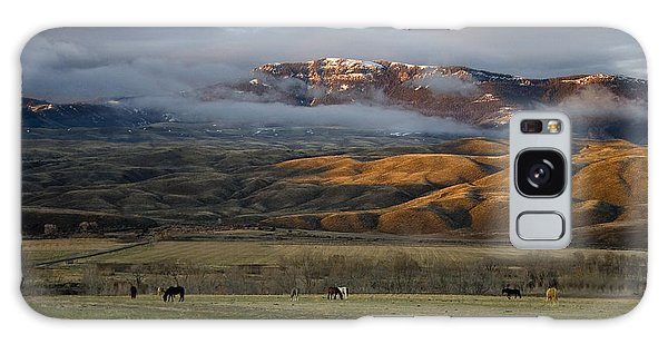 North Fork Pasture-signed Galaxy Case
