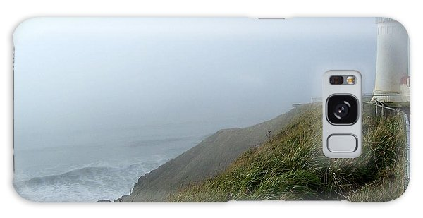 North Head Lighthouse 1 Galaxy Case by Peter Mooyman