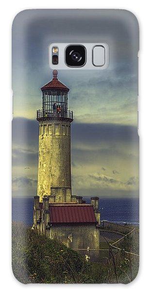 North Head Lighthouse Galaxy Case by Jean OKeeffe Macro Abundance Art