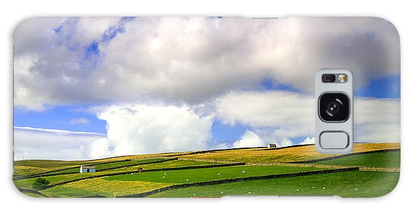 North Pennines Barns In Landscape Galaxy Case