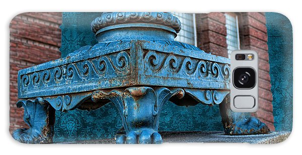 North Platte Post Office Lamp Post Galaxy Case by Sylvia Thornton