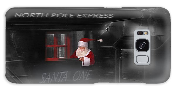 Santa Claus Galaxy Case - North Pole Express by Mike McGlothlen
