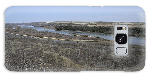 North Saskatchewan River Galaxy Case