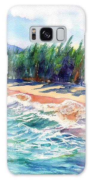 North Shore Beach 2 Galaxy Case by Marionette Taboniar