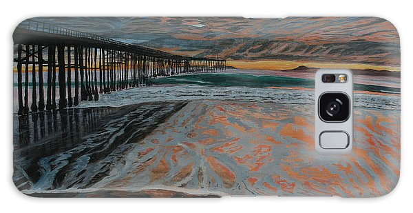 North Side Of The Ventura Pier Galaxy Case by Ian Donley
