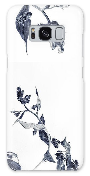 Bluebell Galaxy Case - Northern Bluebells by Priska Wettstein