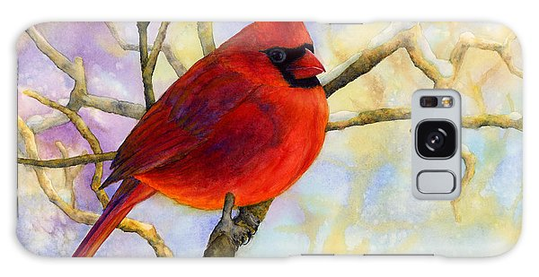Cardinal Galaxy Case - Northern Cardinal by Hailey E Herrera