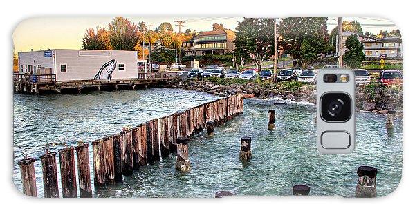 Northern Fish Co. Old Town Tacoma Wa Galaxy Case