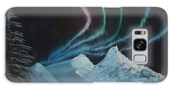 Northern Lights Galaxy Case by Ian Donley