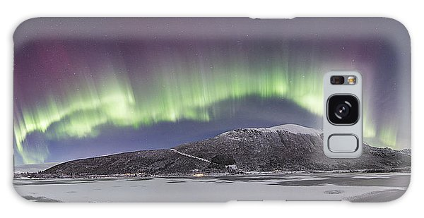 Northern Lights Panoramic Galaxy Case