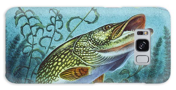 Northern Pike Spinner Bait Galaxy Case