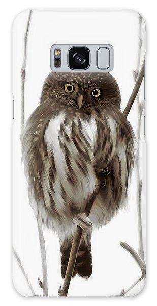 Northern Pygmy Owl - Little One Galaxy Case