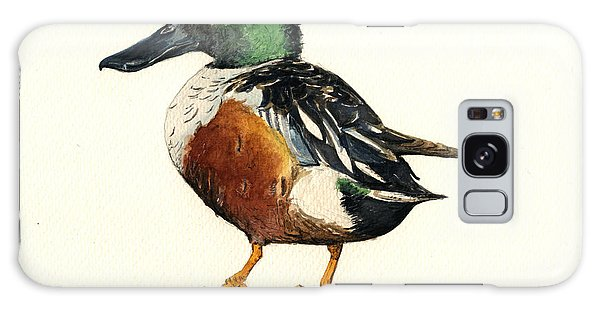 Duck Galaxy Case - Northern Shoveler by Juan  Bosco