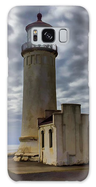 North Head Lighthouse Galaxy Case