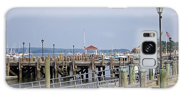 Northport Dock Long Island New York Galaxy Case