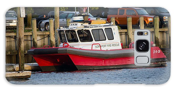 Northport Fire Boat Long Island New York Galaxy Case