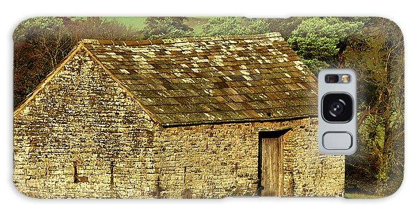 Northumberland Stone Barn Galaxy Case