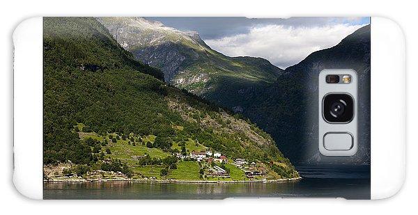 Norway Geiranger Geirangerfjord Fjord Galaxy Case