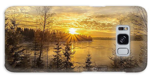 Norway Hedmark Galaxy Case by Rose-Maries Pictures