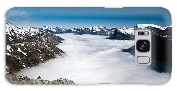 Norway In The Clouds Galaxy Case