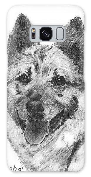 Norwegian Elkhound Sketch Galaxy Case by Kate Sumners