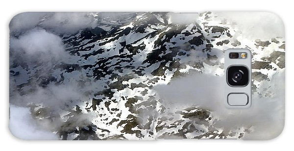 Norwegian Mountains From On High Galaxy Case by Laurel Talabere
