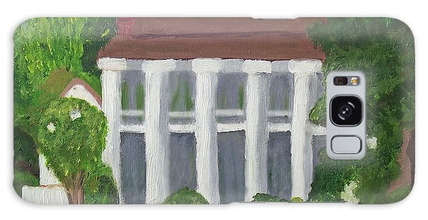 Norwood Plantation Home Galaxy Case by Margaret Harmon