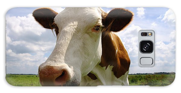 Nosy Cow Galaxy Case