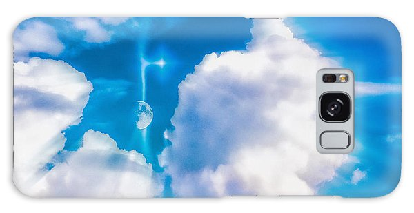 Not Just Another Cloudy Day Galaxy Case by Kellice Swaggerty