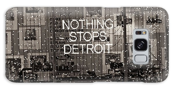 Nothing Stops Detroit  Galaxy Case by John McGraw