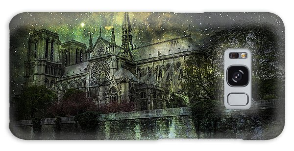 Notre Dame At Night Galaxy Case