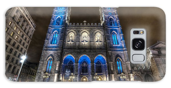 Notre Dame Basilica In Montreal Galaxy Case by Shawn Everhart
