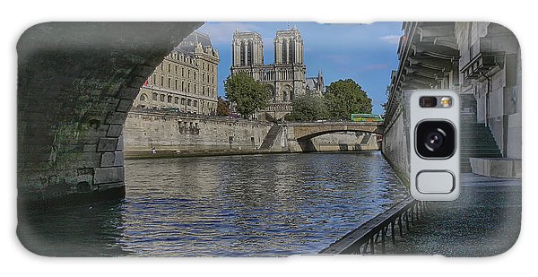 Notre Dame Cathedral Galaxy Case by Gary Hall