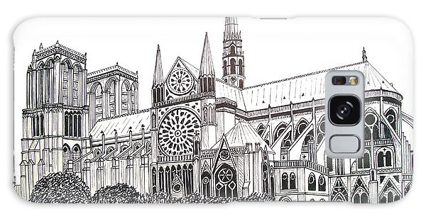 Notre Dame Cathedral - Paris Galaxy Case